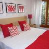 gavina mar habitación bordeaux cama2