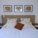 gavina mar habitació caramel llit