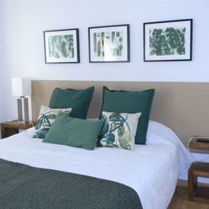 gavina mar quarto emmerald cama