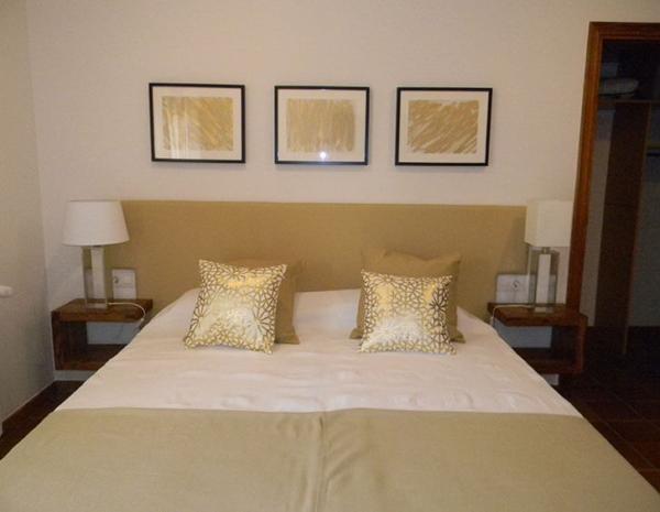 gavina mar habitación golden cama