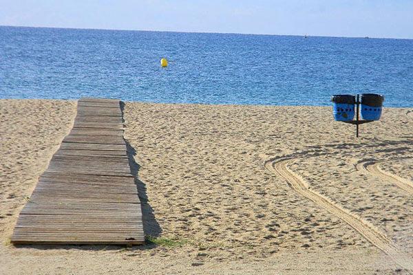gavina mar el masnou playa