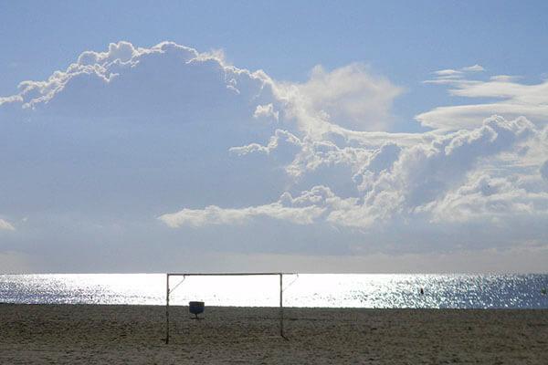 gavina mar el masnou playa 2