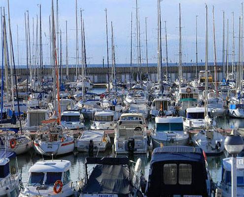 gavina mar el masnou puerto