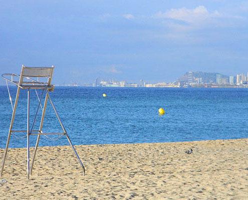 gavina mar el masnou playa 5