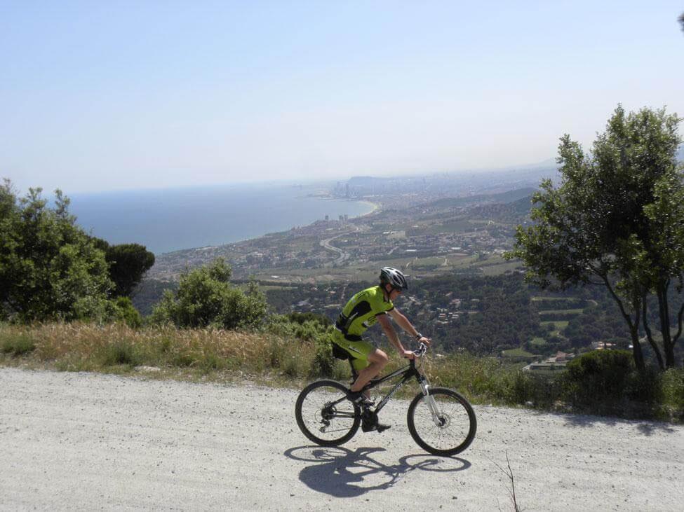 gavina mar actividades bicicleta mtb cornisa