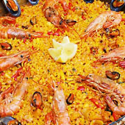 gavina mar gastronomía paella